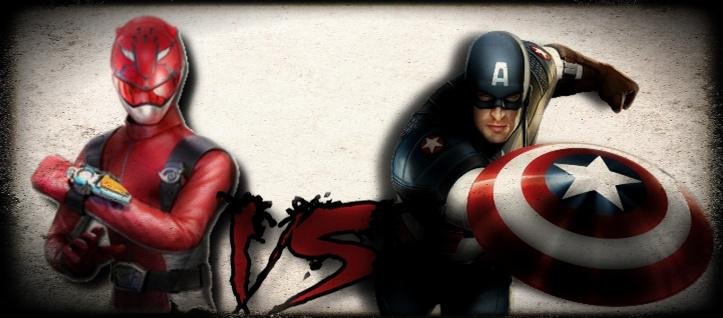 Red Buster Vs Capitão America