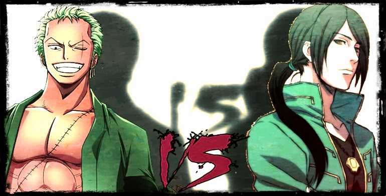 Roronoa Zoro Vs Joe Gibken